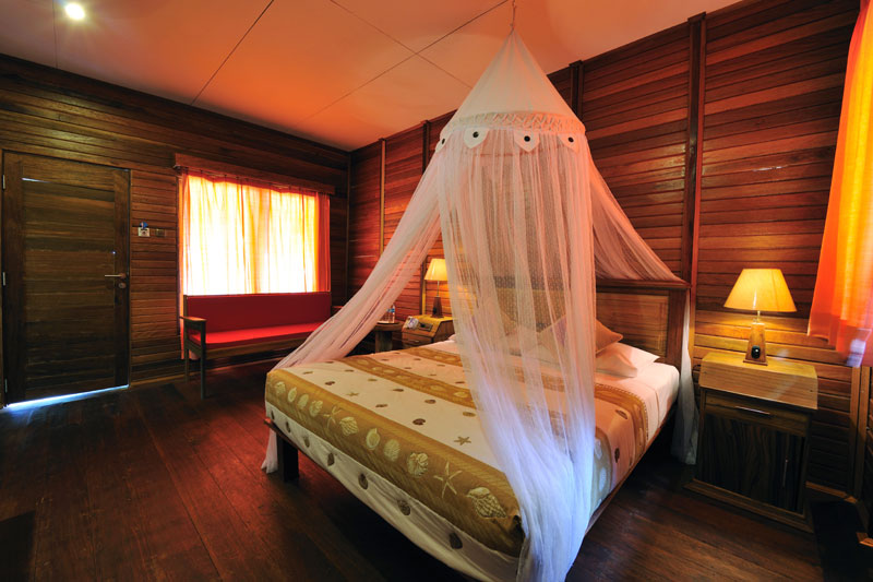 Double Bed Raja Ampat Dive Lodge