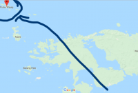 Map Wayag Raja Ampat