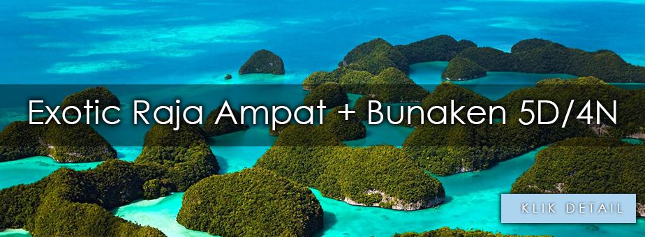 Paket Wisata Ke Raja Ampat Dari Jakarta