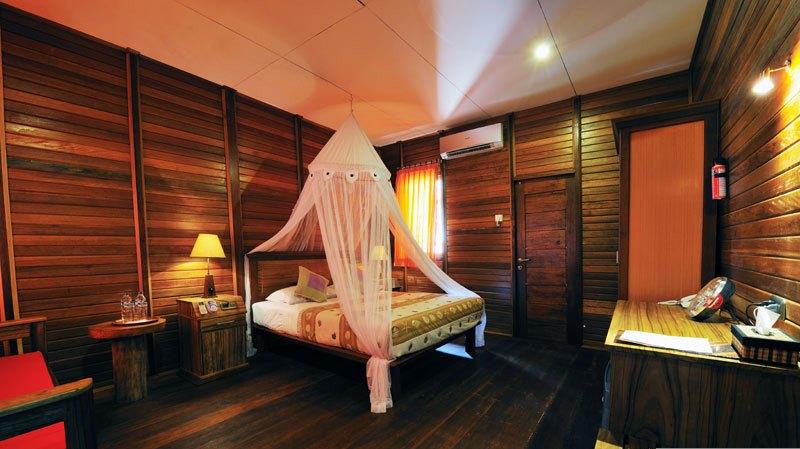 Kamar di Raja Ampat Dive Lodge