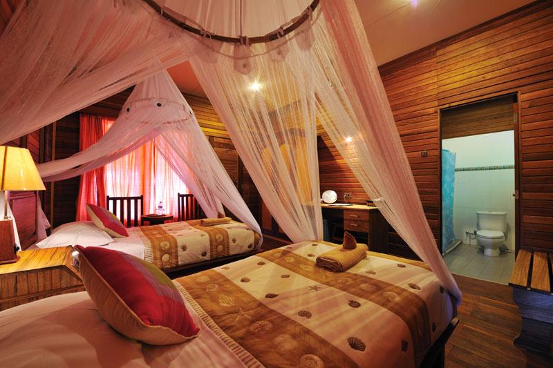 Raja Ampat Dive Lodge Room
