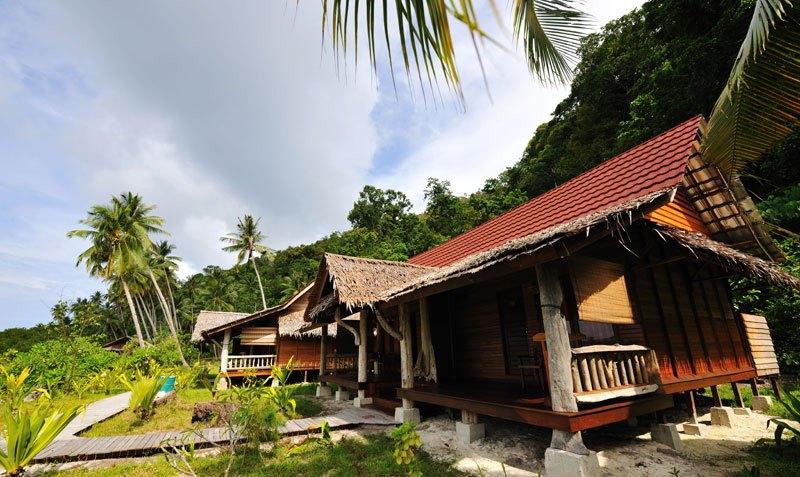 Resort di Raja Ampat